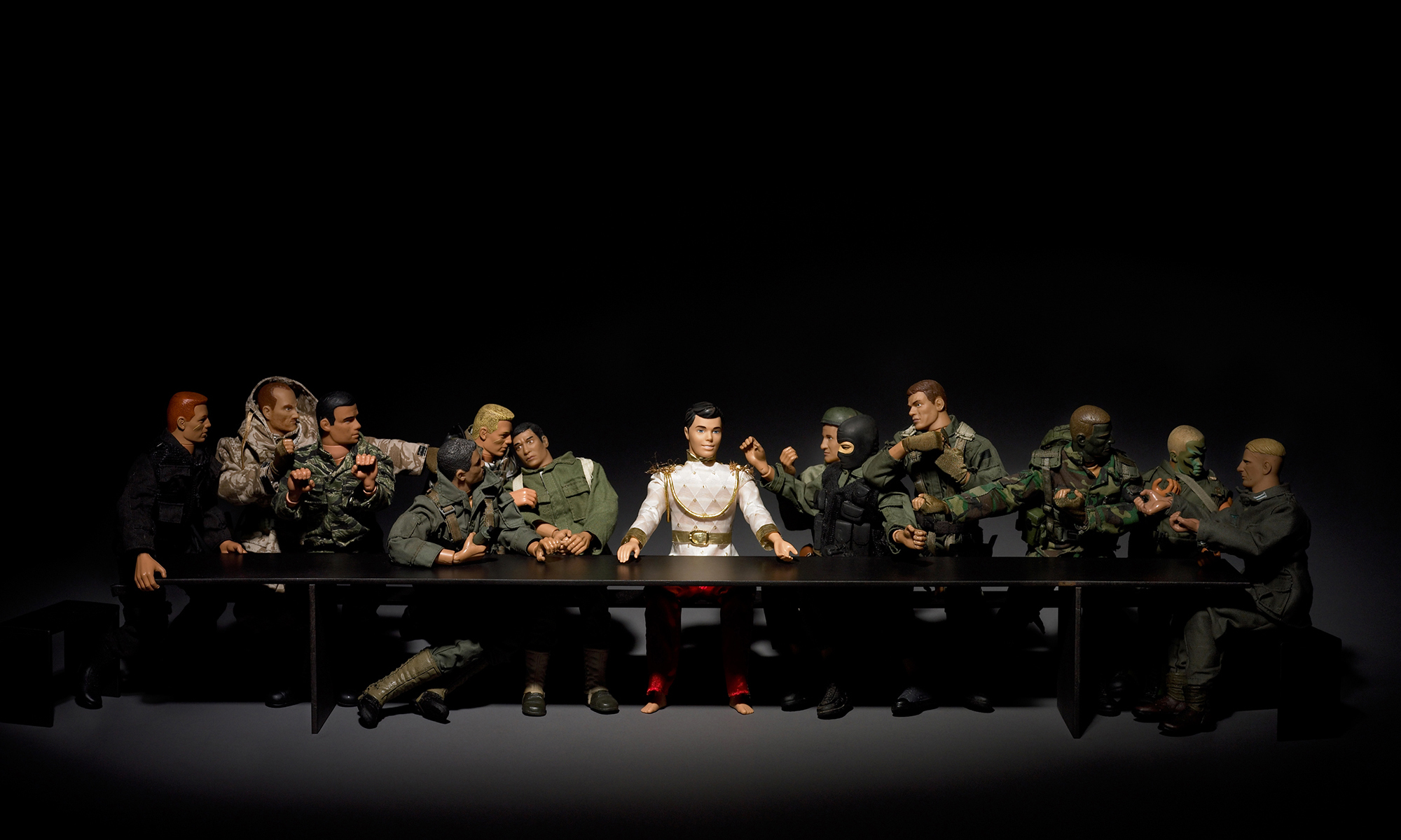 16-GuerradelaPaz_Last-Supper_2005